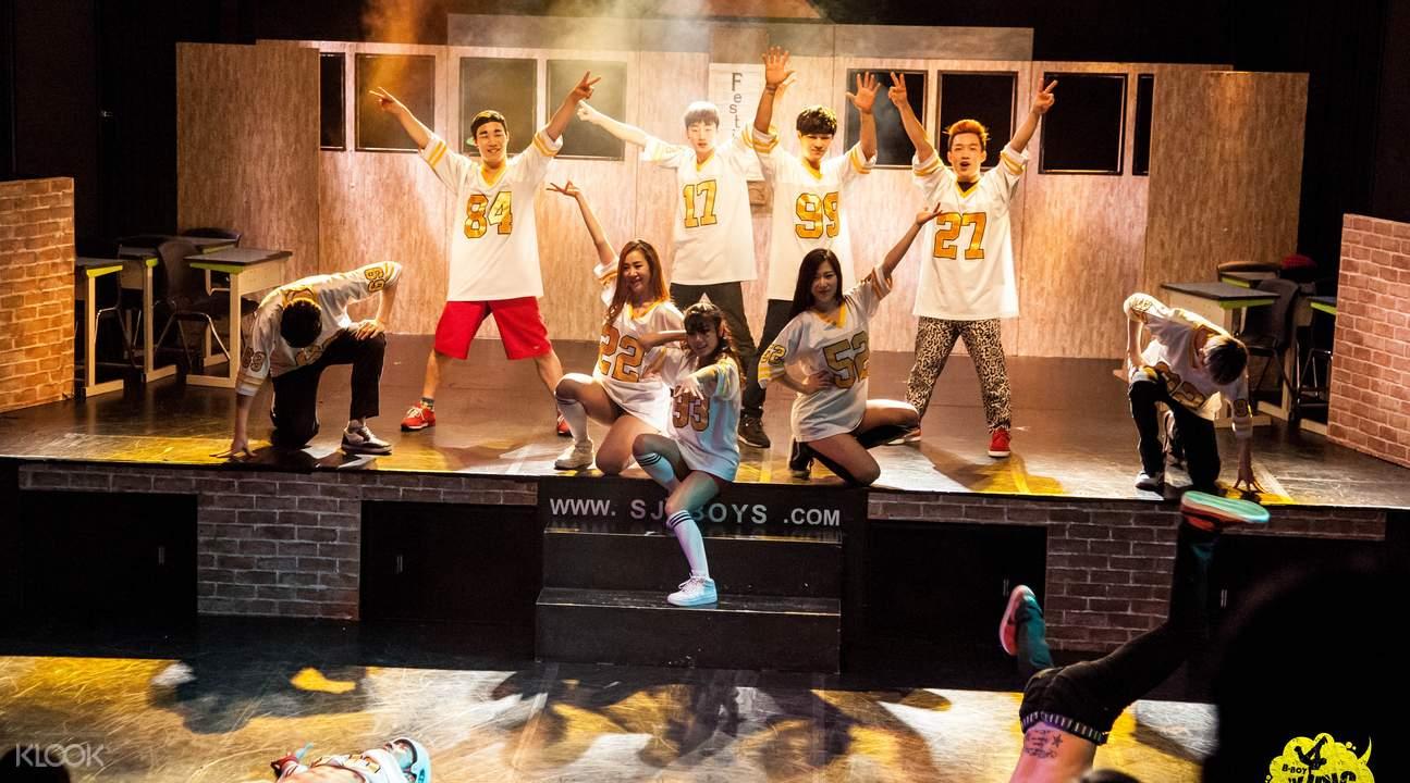 B-Boy show seoul