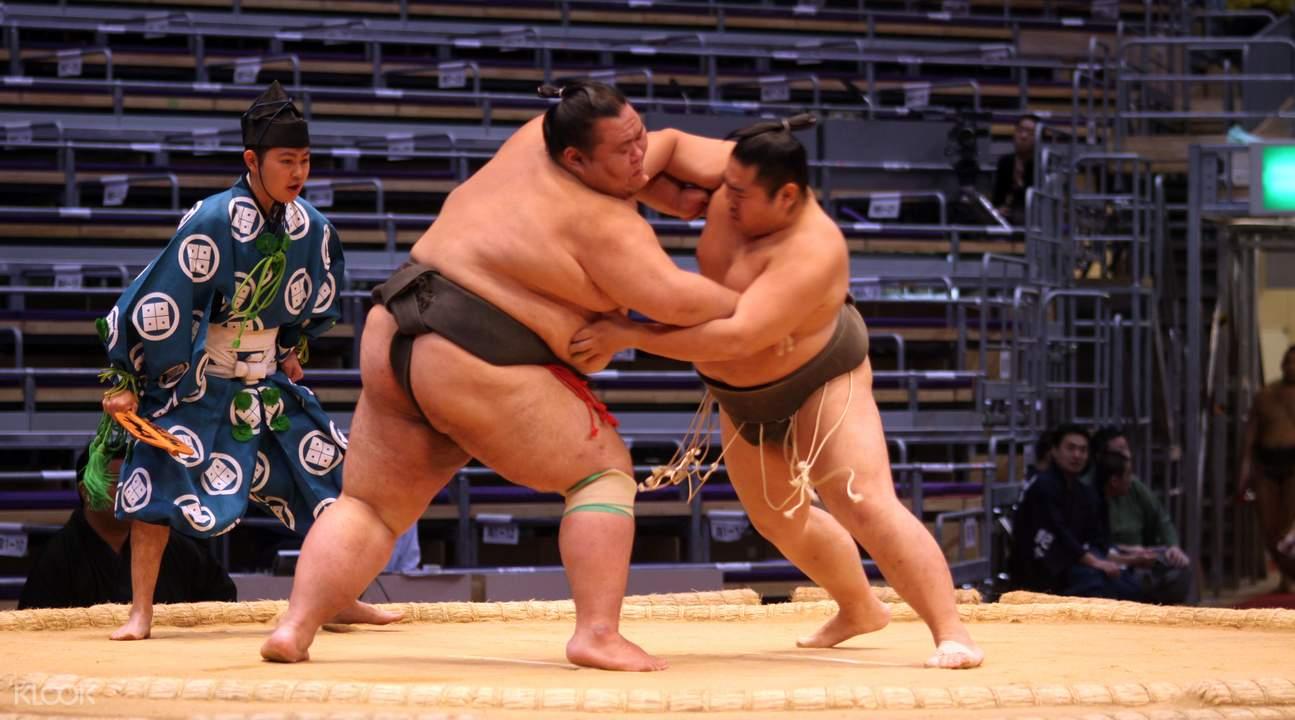 相撲比賽現場