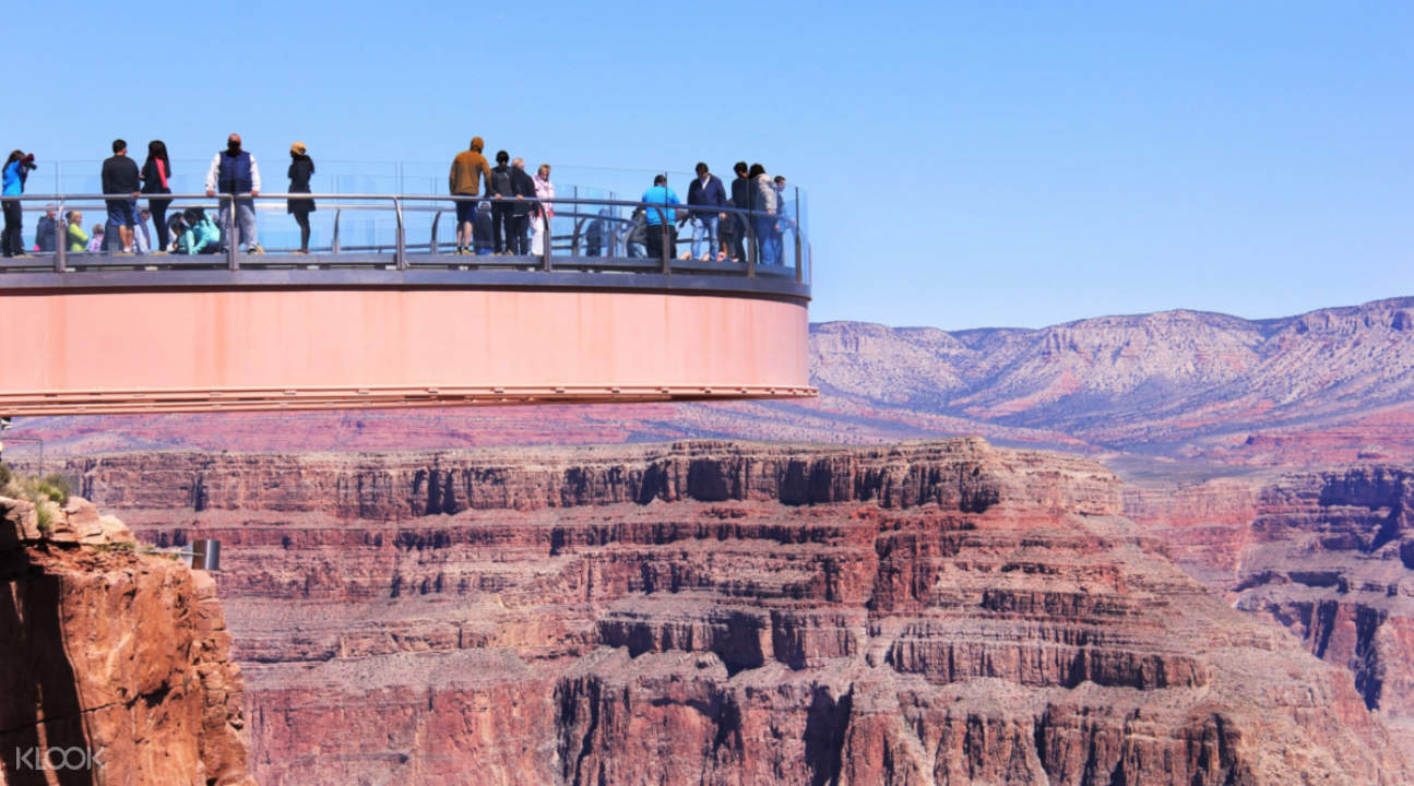 the Grand Canyon West Rim Skywalk