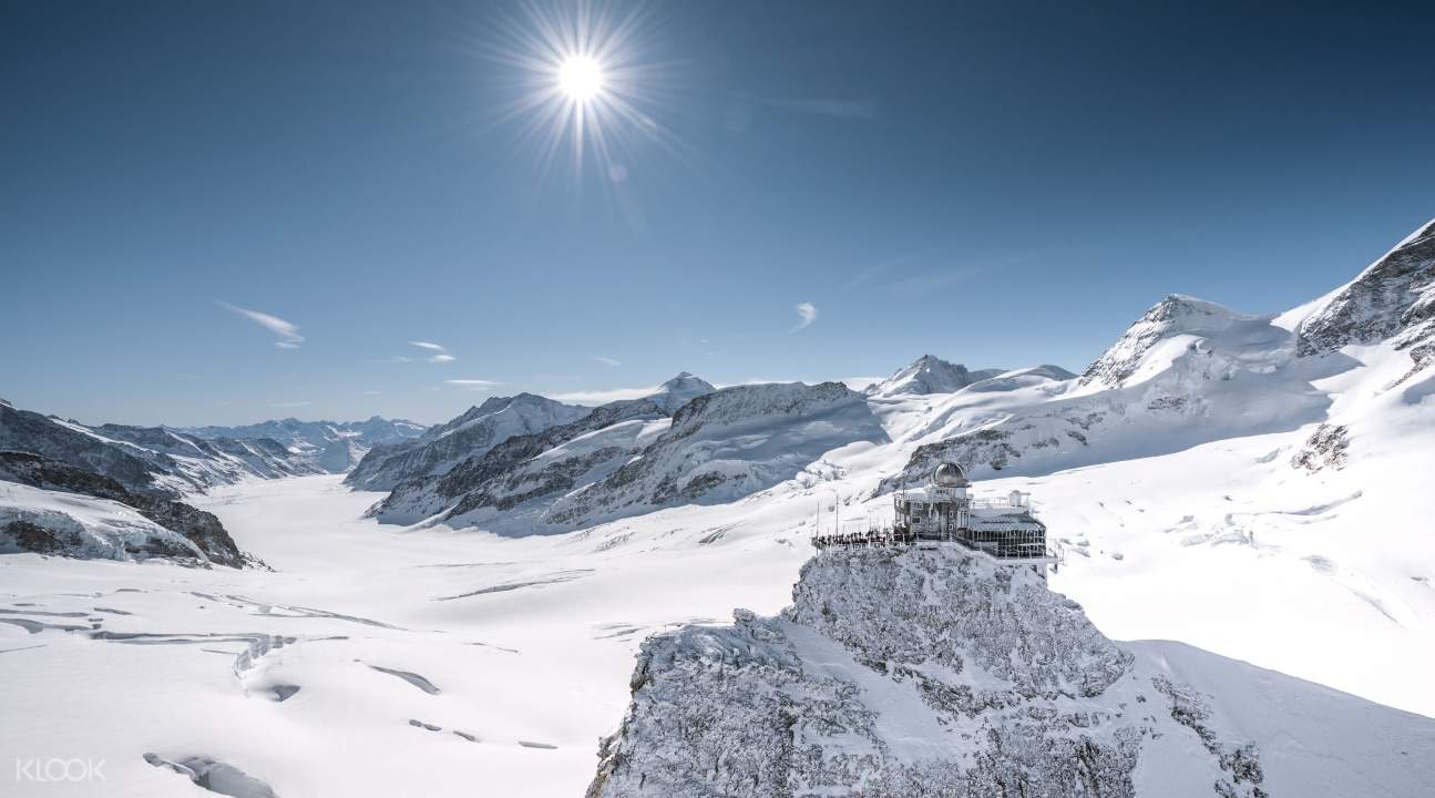 the Sphinx Observatory in Jungfraujoch