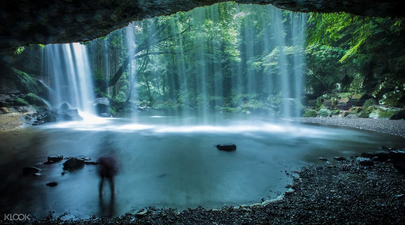 waterfall Kurokawa Japan