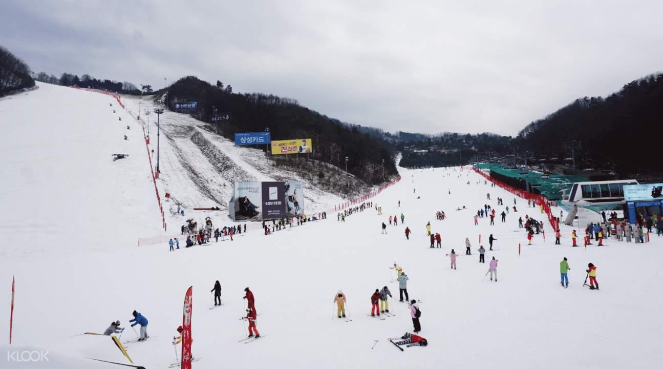 首尔滑雪一日团