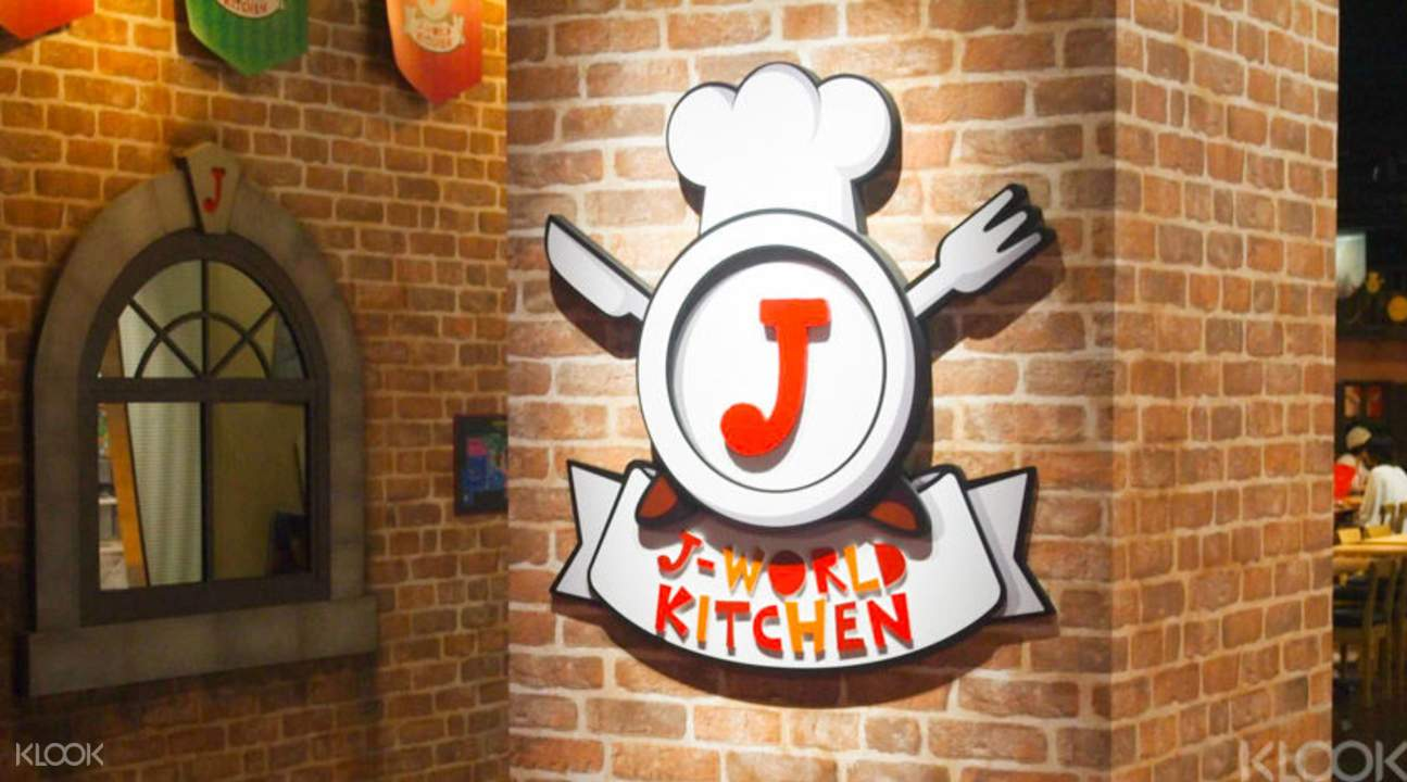 J-world kitchen at j-world tokyo