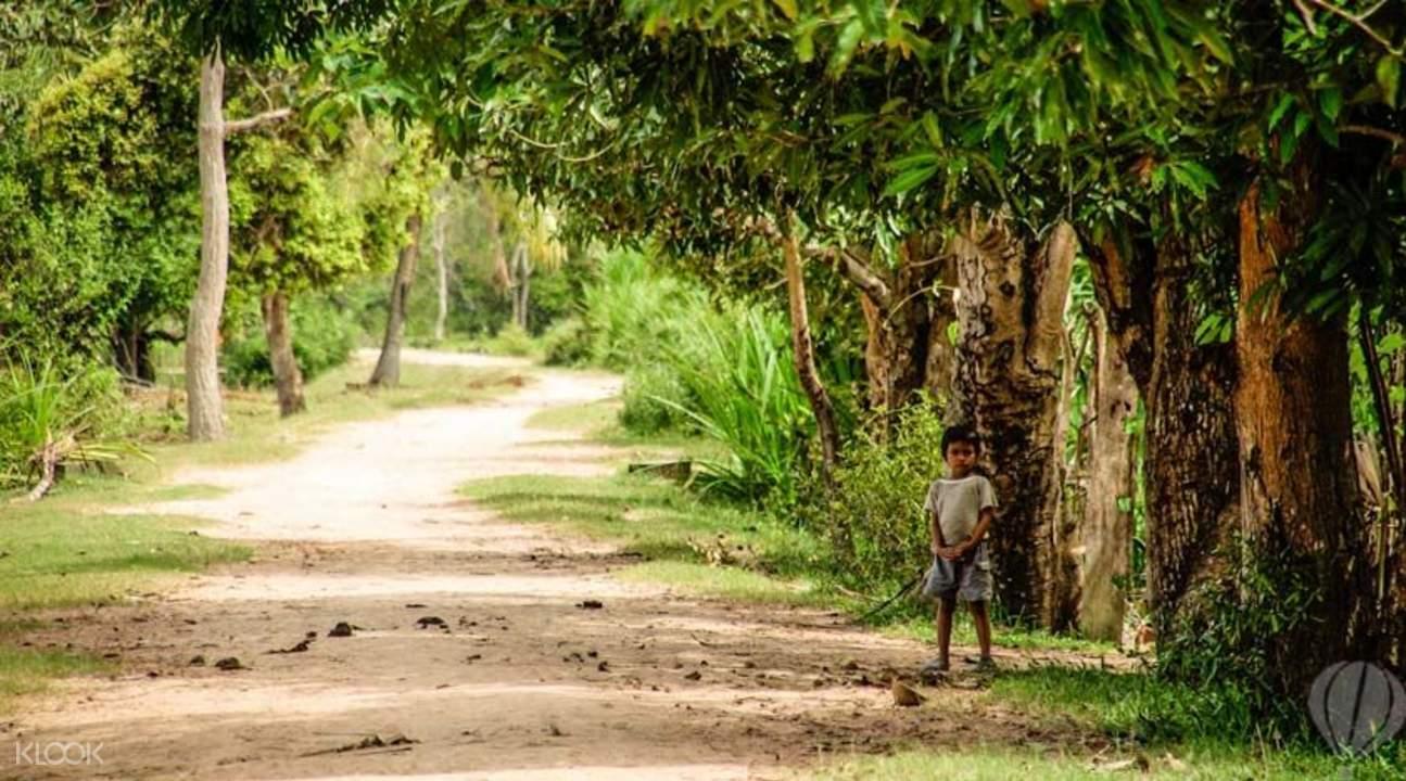 電動車柬埔寨郊野遊