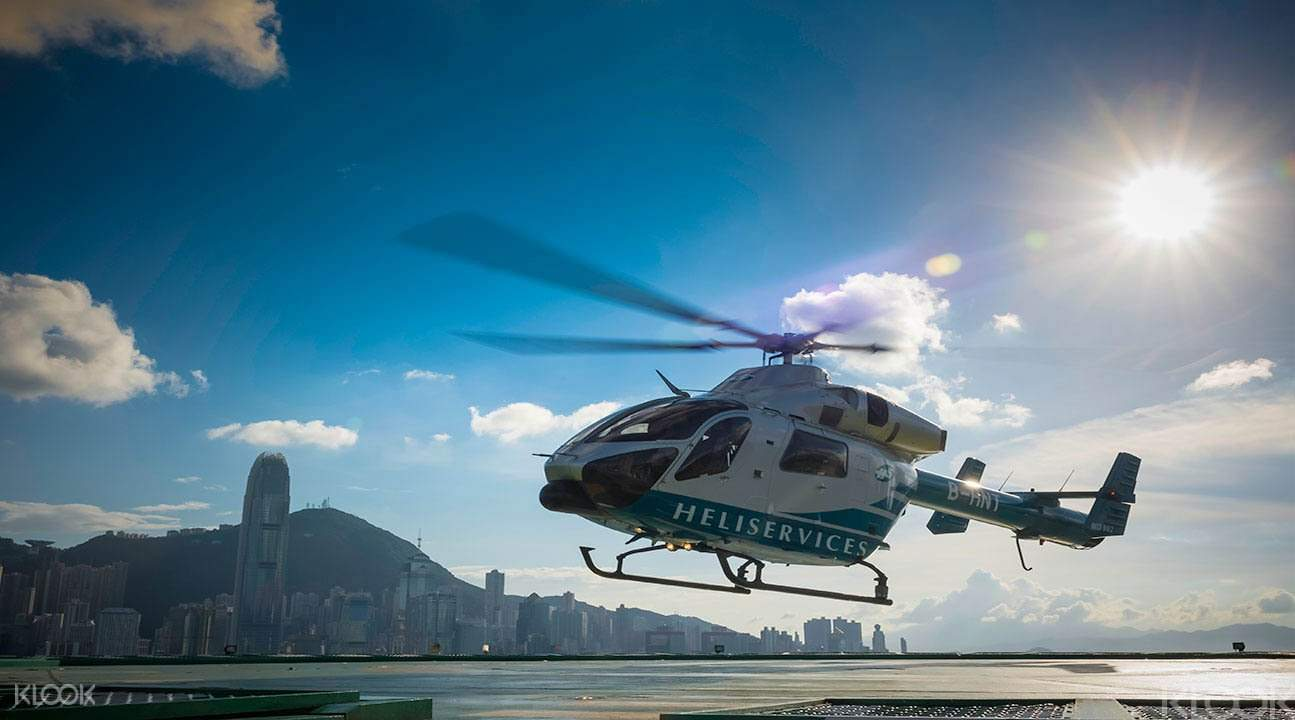 Helicopter tour hong kong
