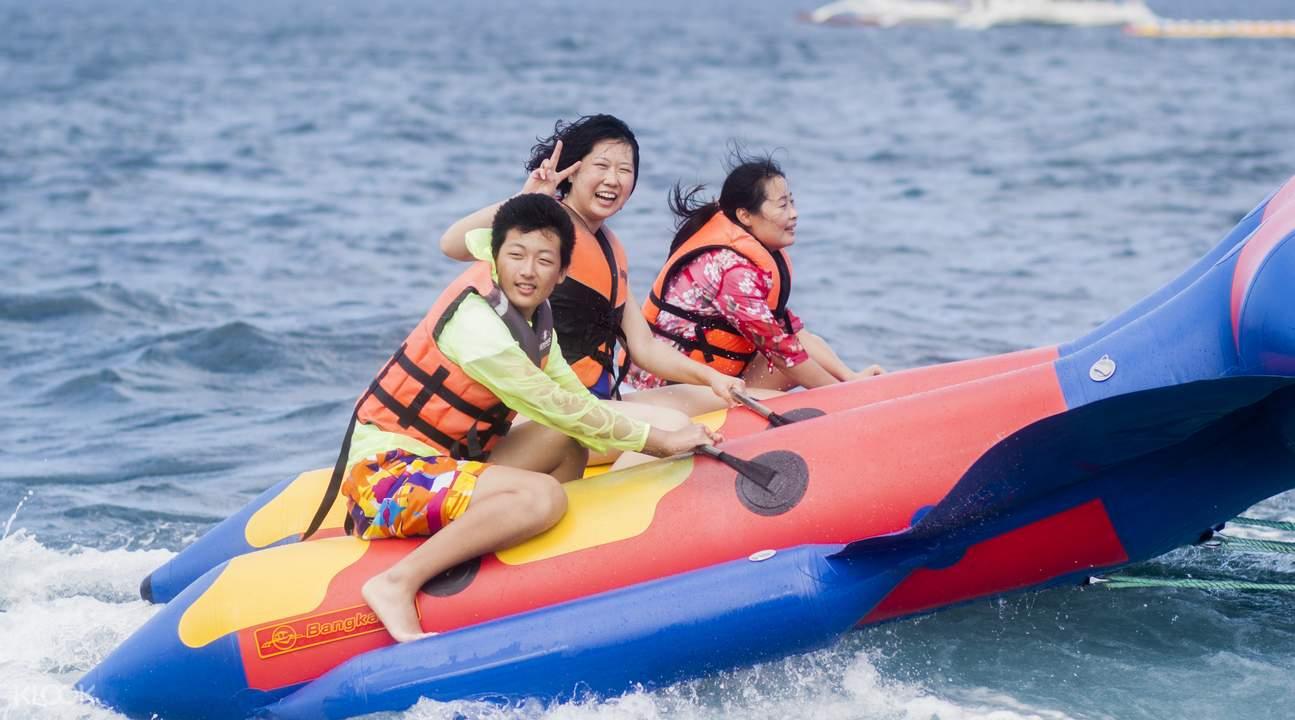长滩岛飞鱼活动