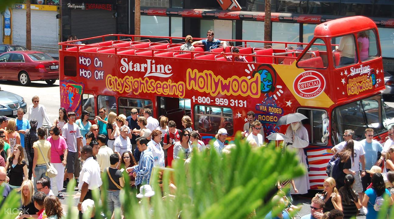 洛杉矶&好莱坞City Sightseeing城市观光巴士
