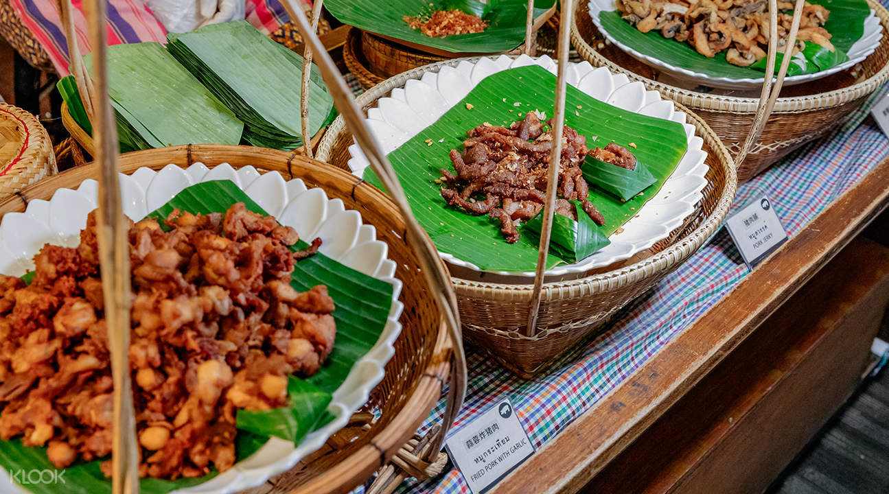 Baiyoke floating market