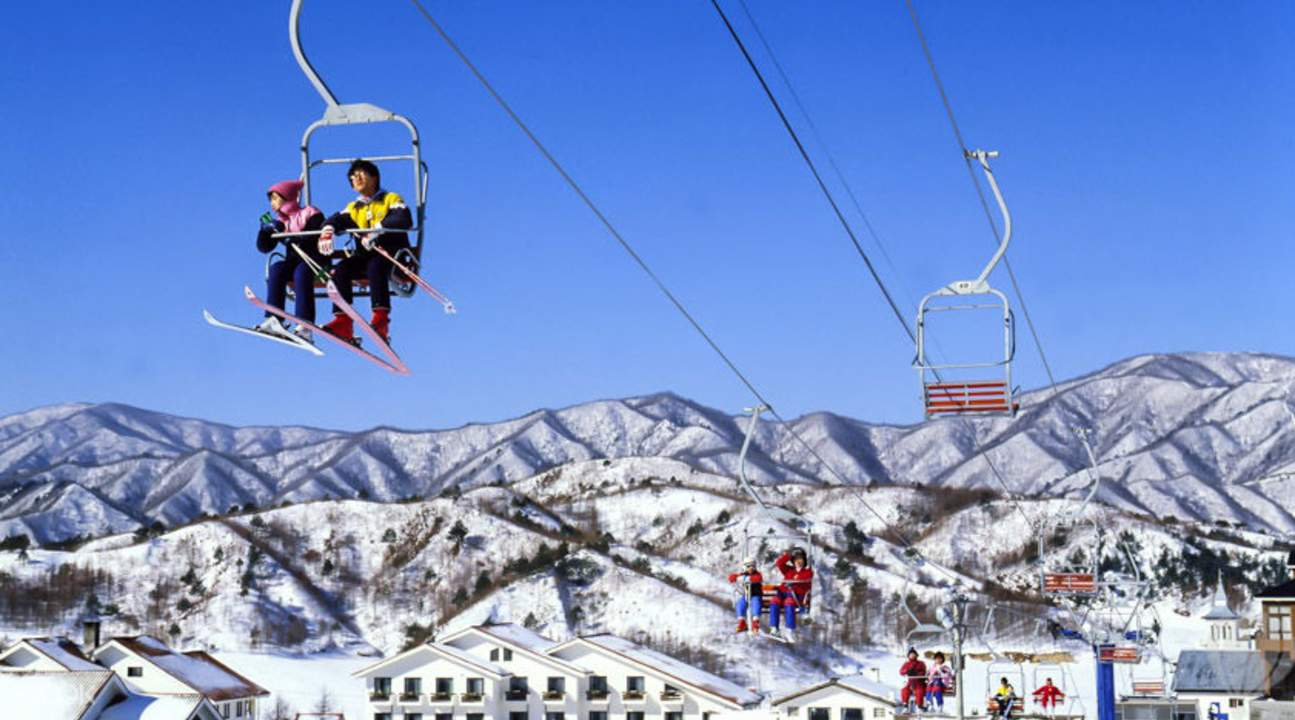 芝山度假村滑雪場
