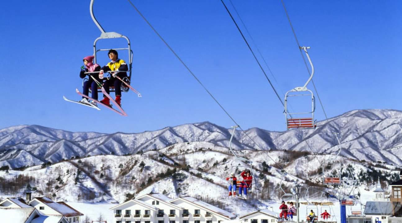 jisan forest ski resort gyeonggi-do