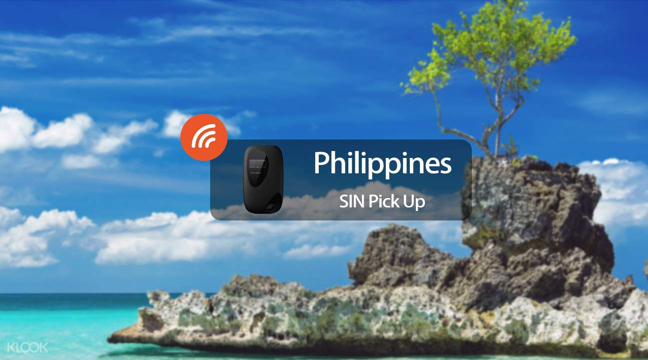 3.5G portable WiFi rental for the Philippines (SIN Pick Up