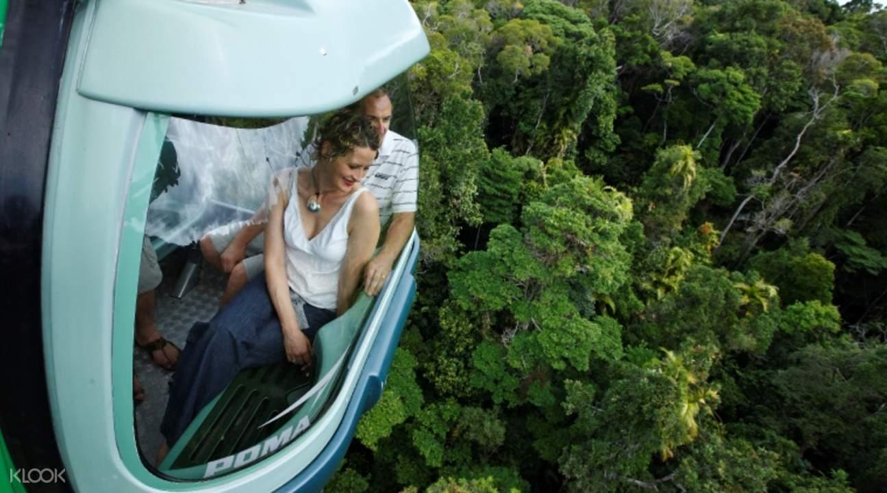 凯恩斯库兰达热带雨林,凯恩斯skyrail缆车