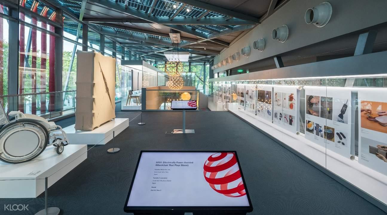 新加坡紅點設計博物館門票