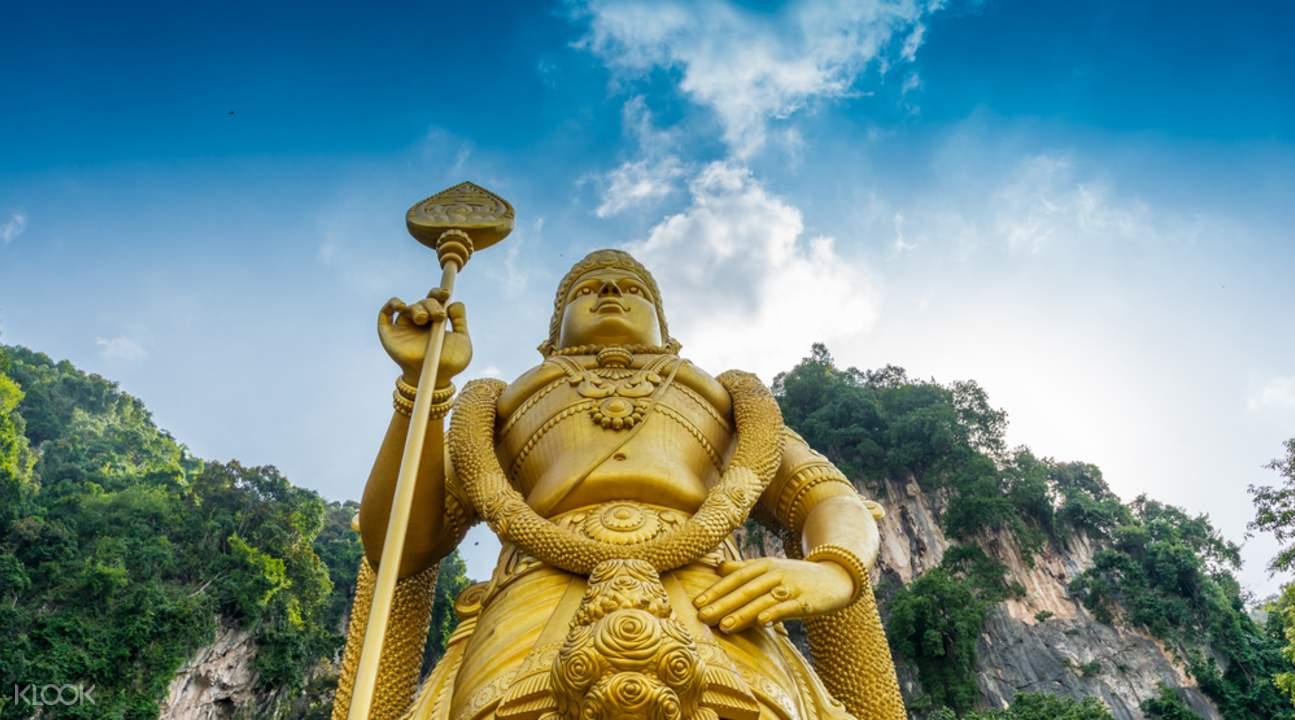 Kuala Lumpur Suburbs and Batu Caves Tour