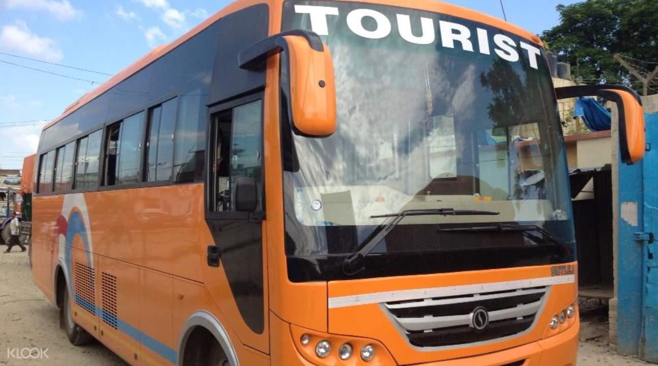 pokhara to kathmandu tourist bus transfers