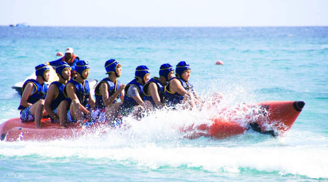 banana boat ride kenting