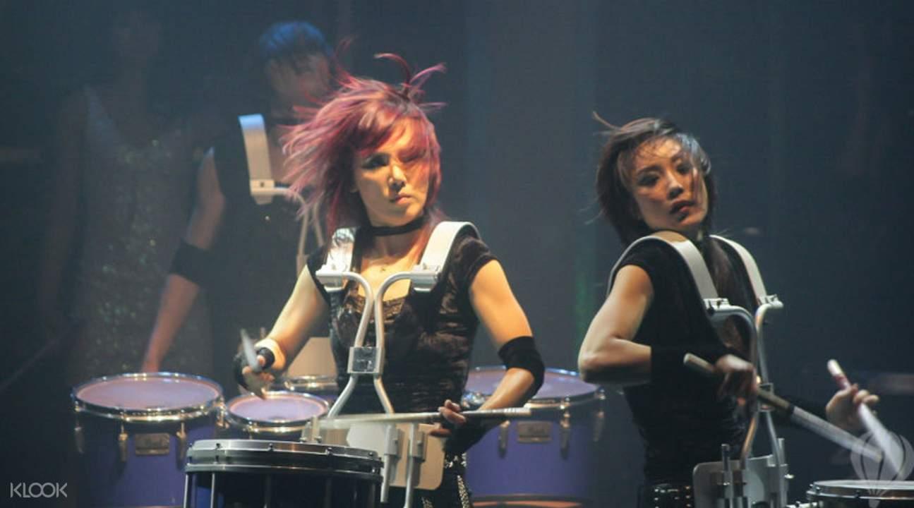 Drum Cat Female Drummer