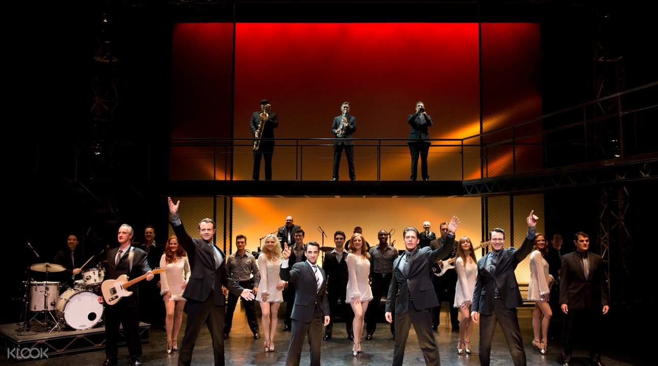 百老匯經典音樂劇「澤西男孩」門票