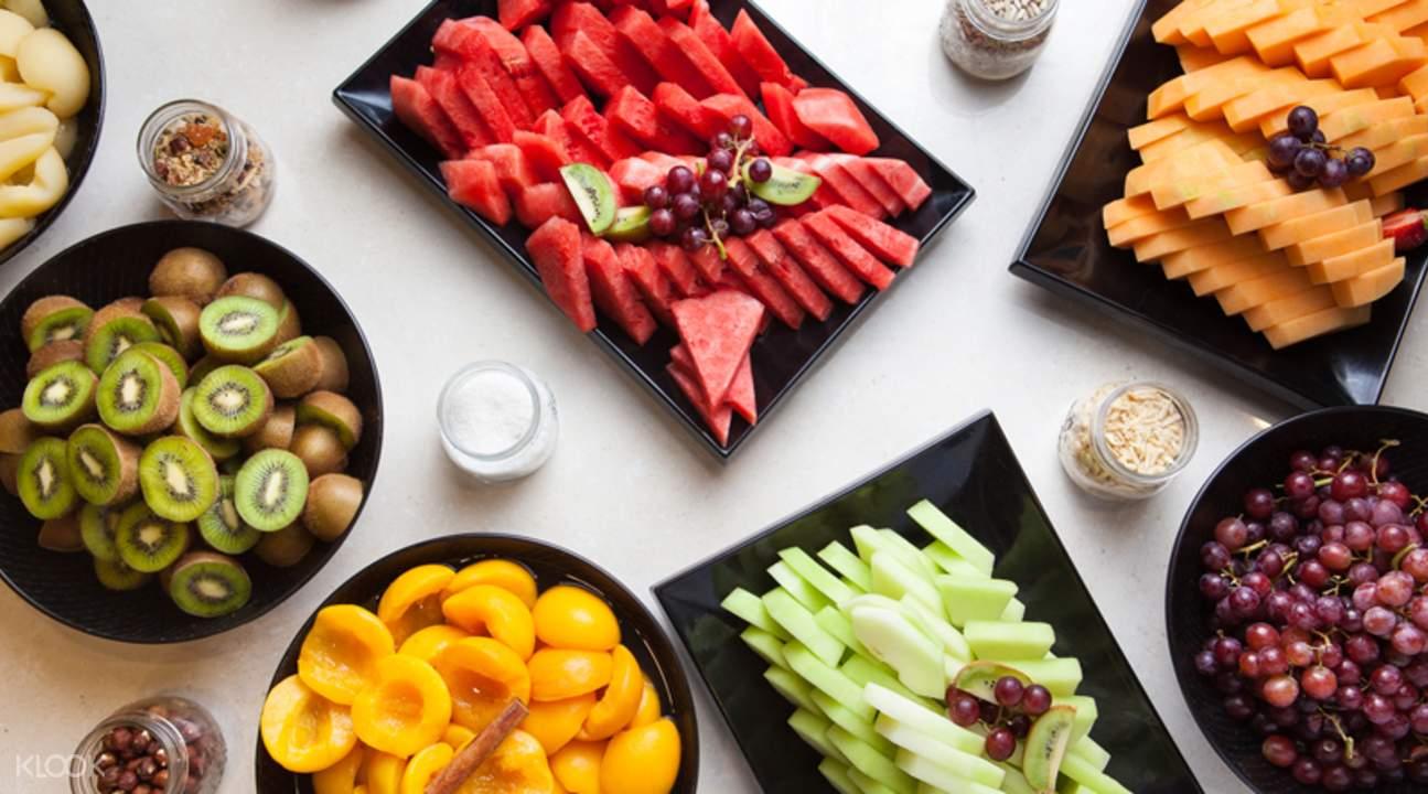 水印酒店海鮮自助餐廳水果餐