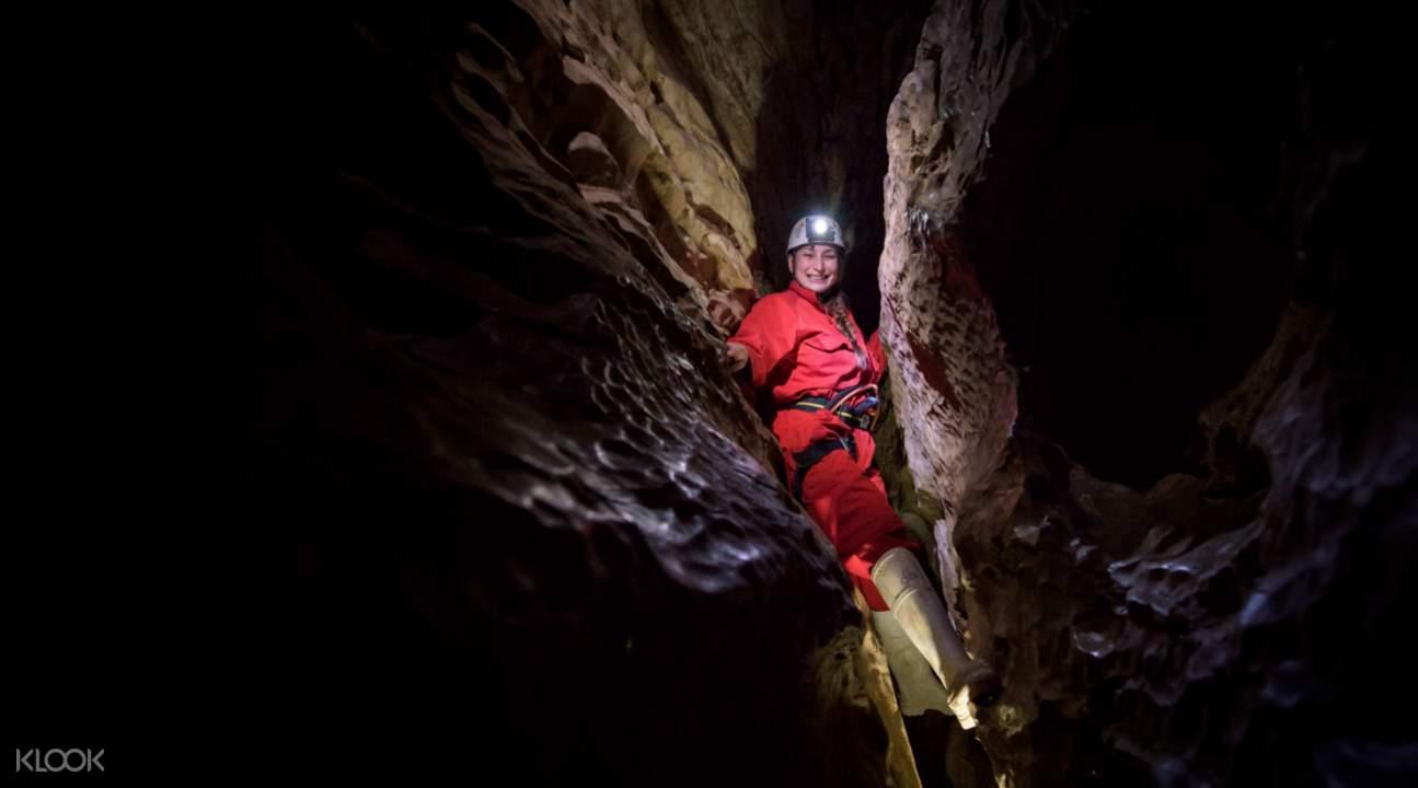 魯阿庫利洞穴探險