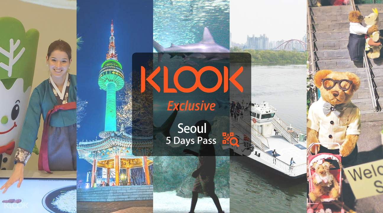 Klook Exclusive Seoul 5 Days Pass