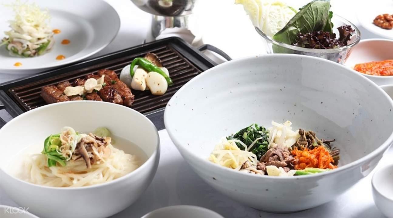 首爾木槿花餐廳高級韓國料理套餐