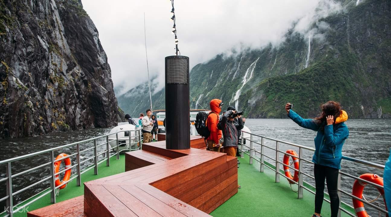 紐西蘭米佛峽灣2小時遊船體驗