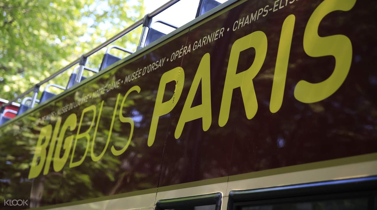 Big Bus Tours Paris