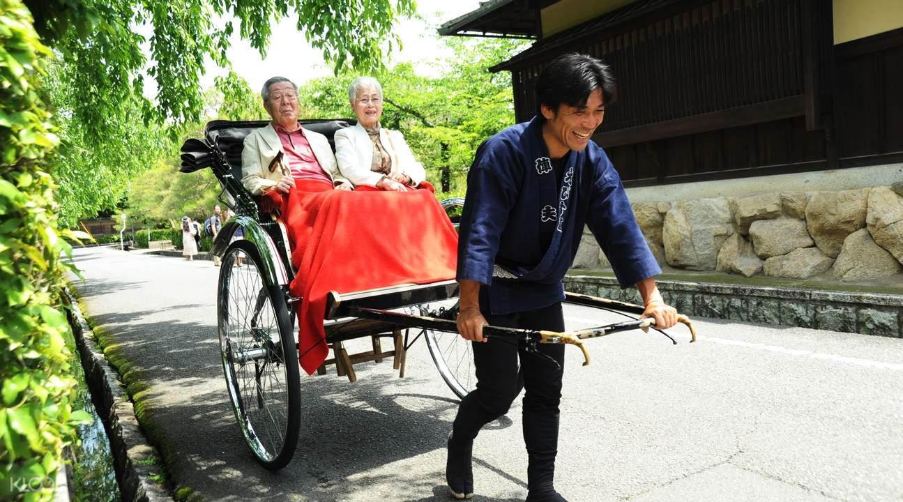 京都东山人力车