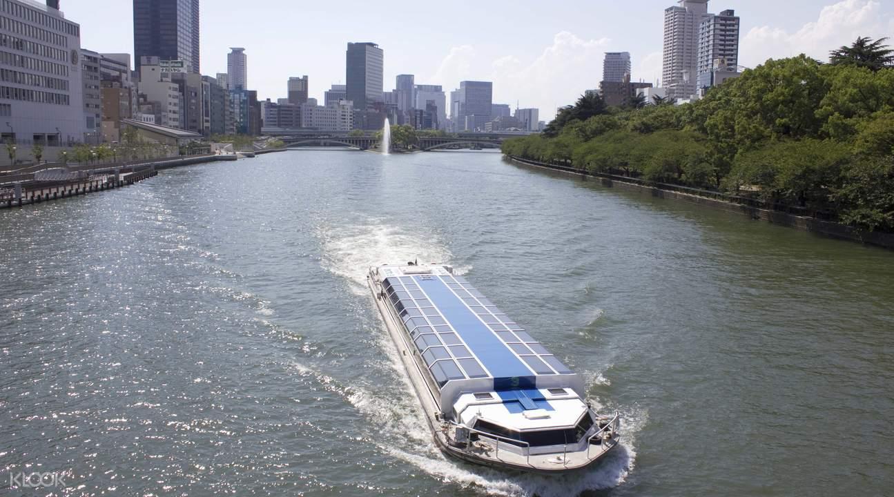 免费乘坐大阪水上巴士