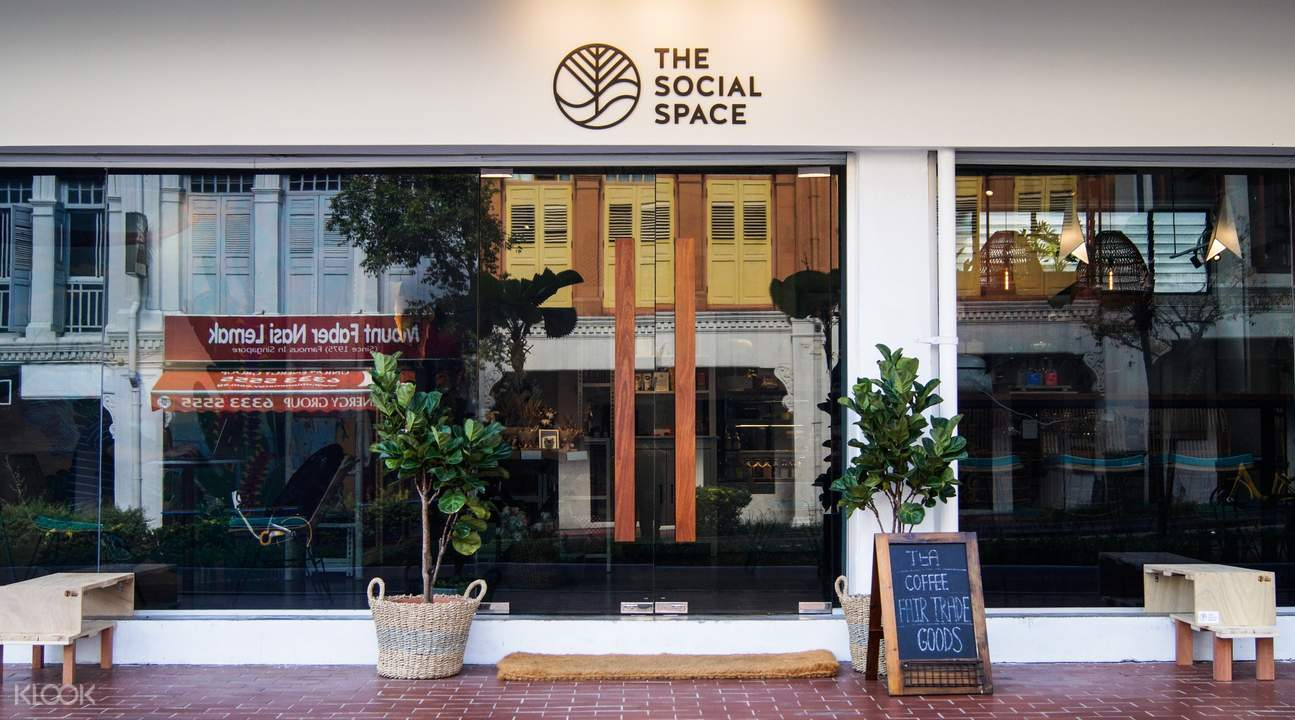 Exterior of The Social Space in Outram Park