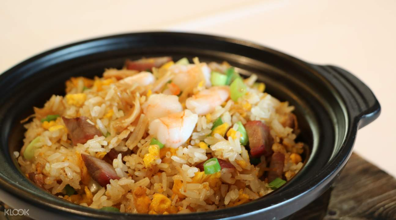 Ah Yat Harbour View signature fried rice