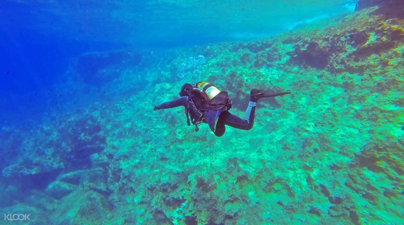丹兑水域潜水