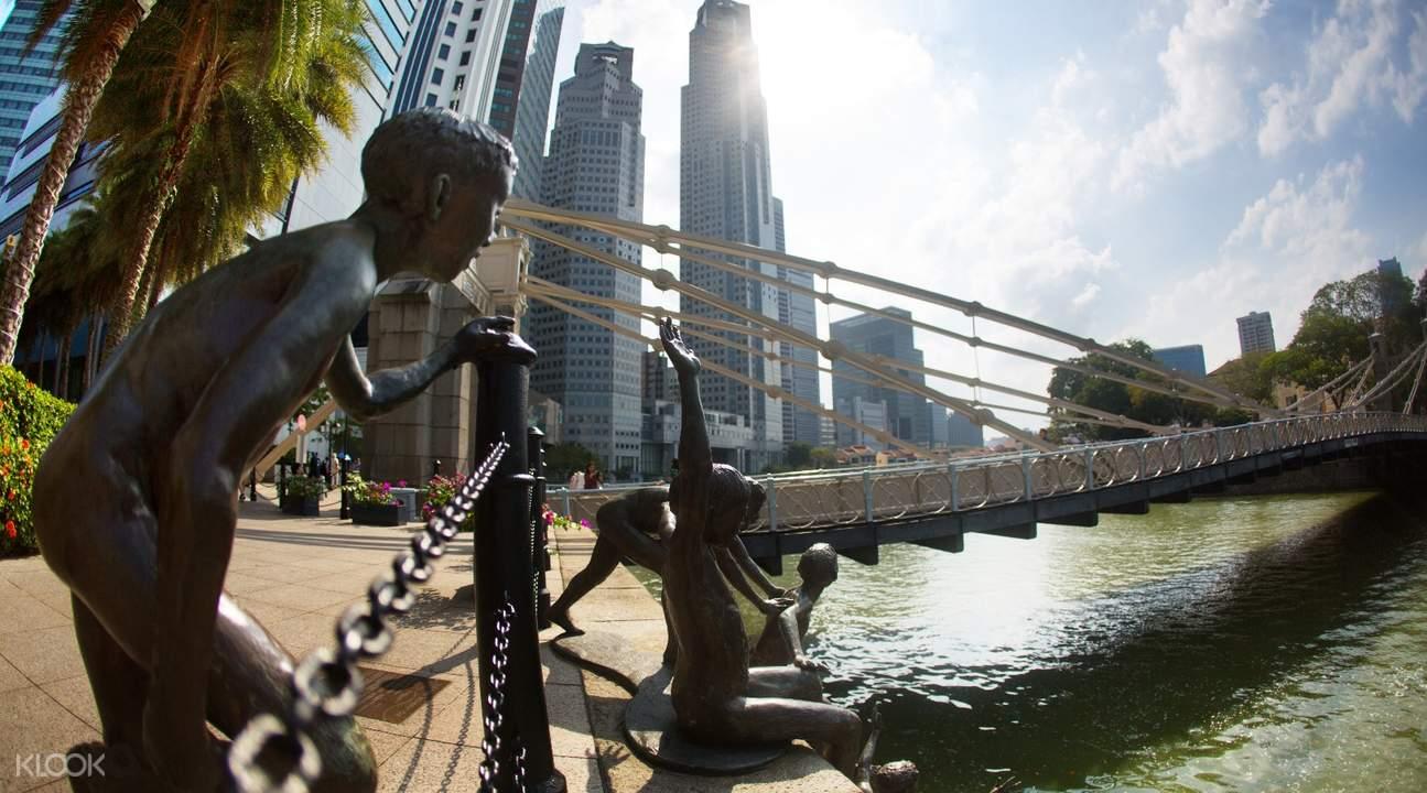 singapore river walk tour