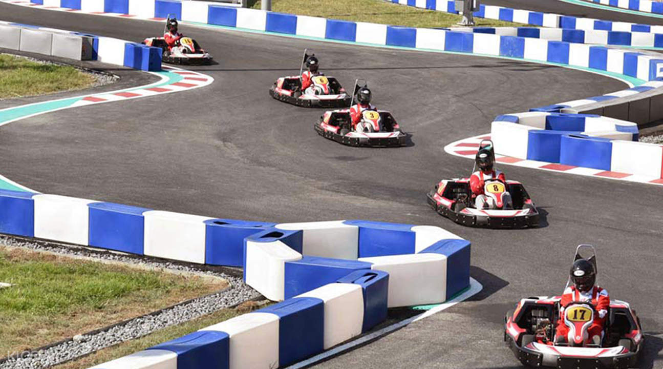 Taiwan go kart racing