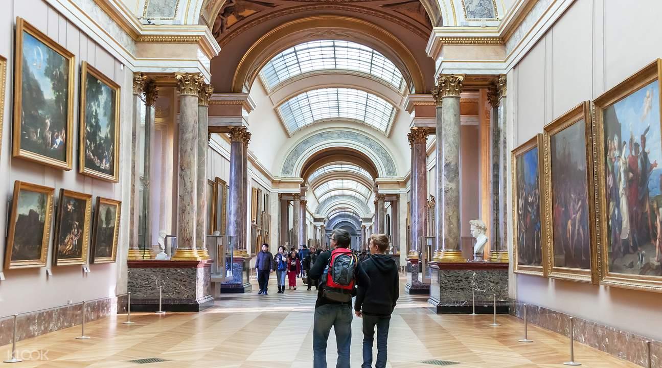 巴黎卢浮宫,巴黎蒙马特高地,蒙马特高地卢浮宫半日导览