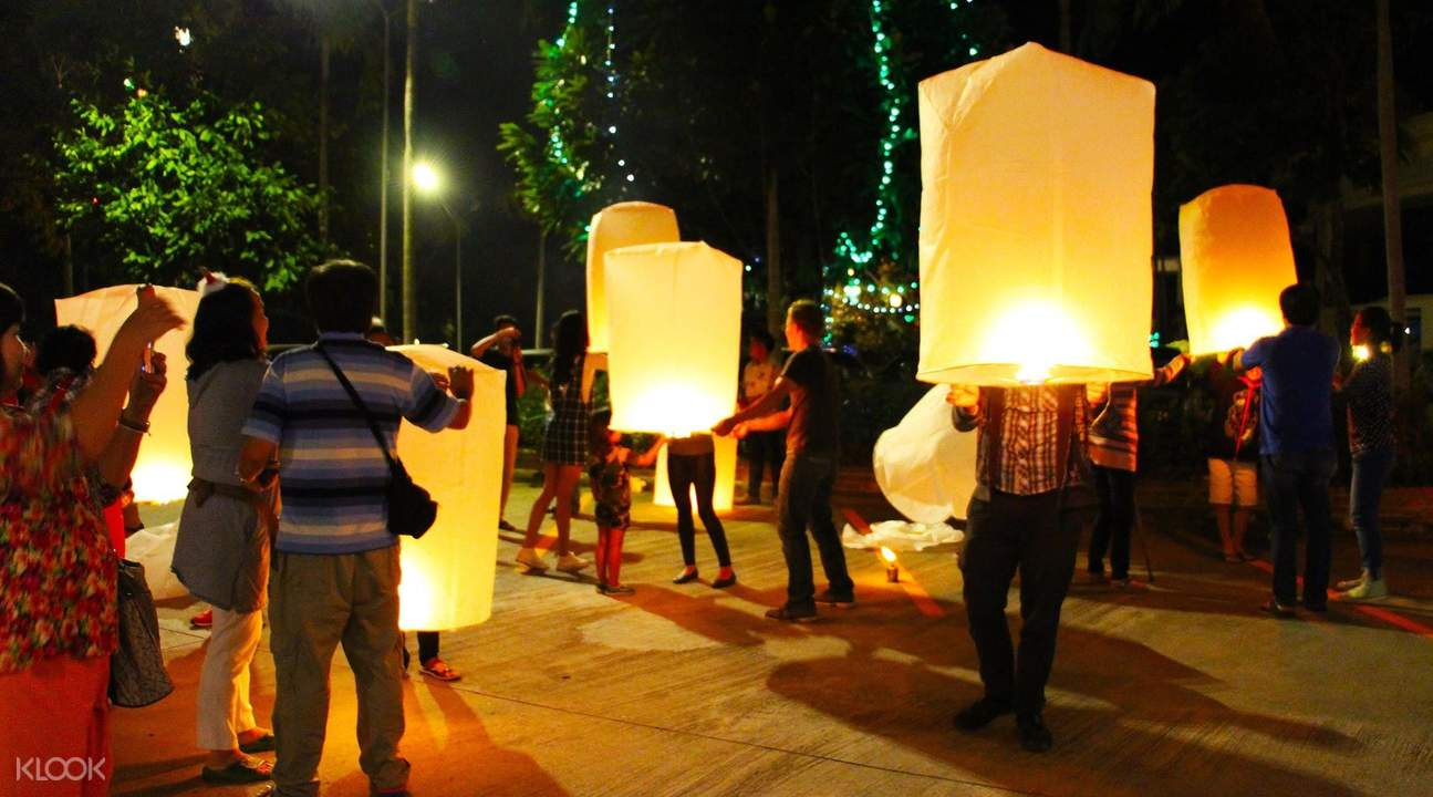 Yeepeng Lanna Lantern Festival