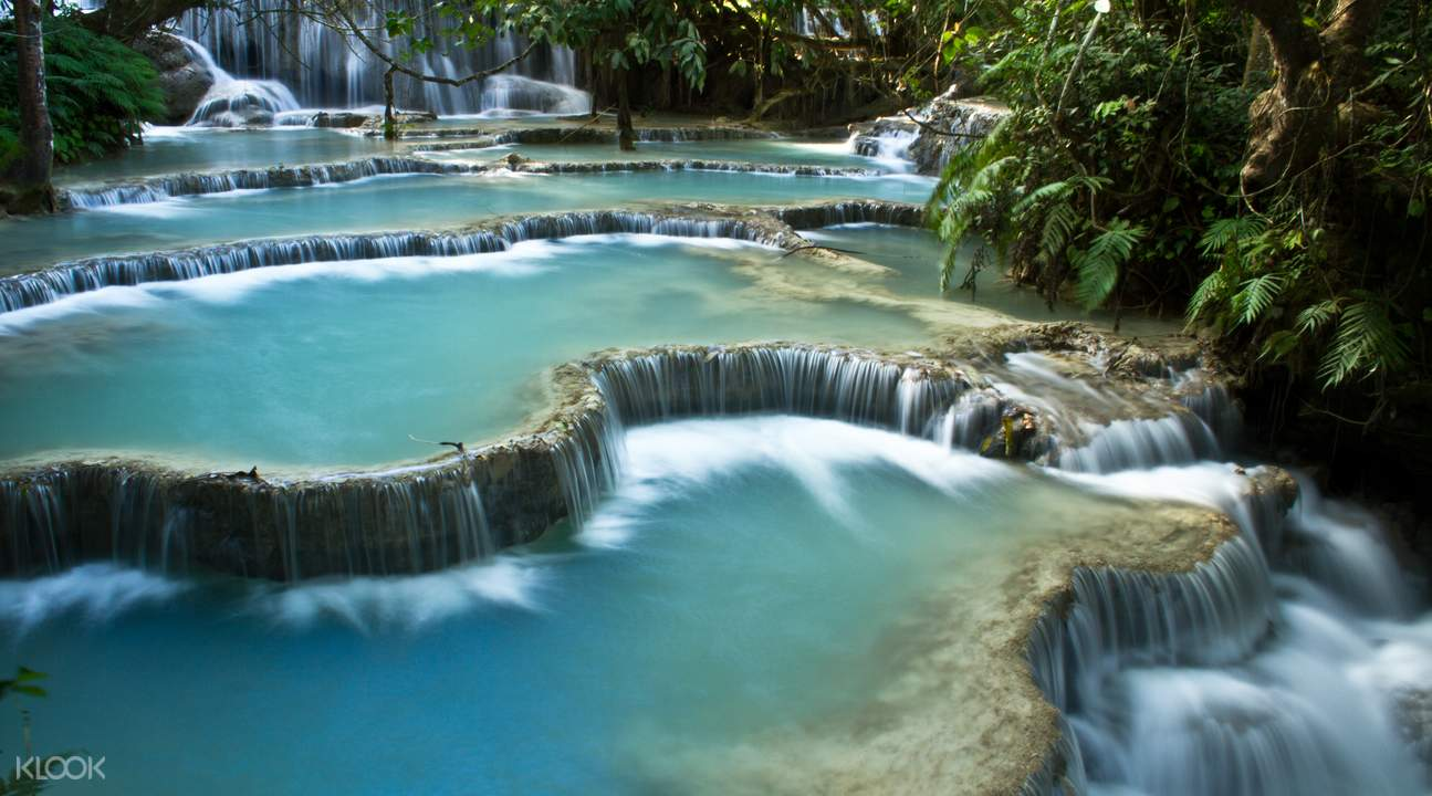 pak ou caves and kuang si falls tour