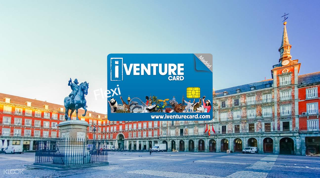 iventure flexi attraction pass madrid