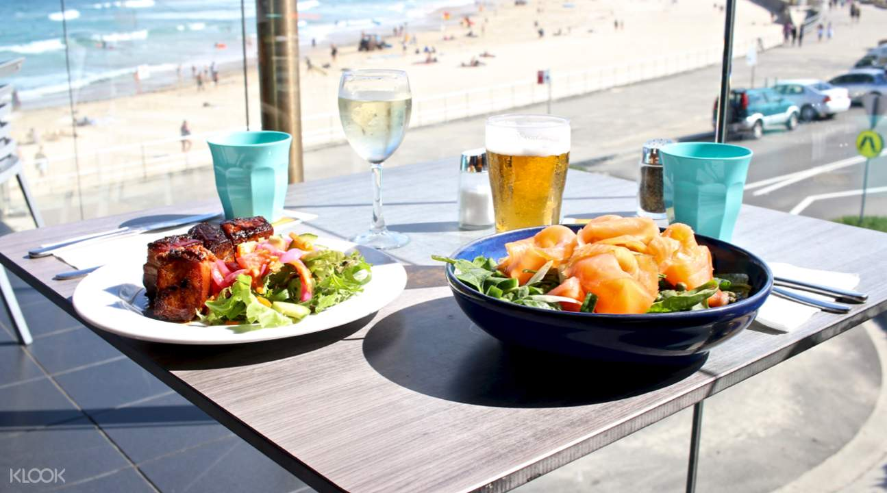 Bondi beach where to eat