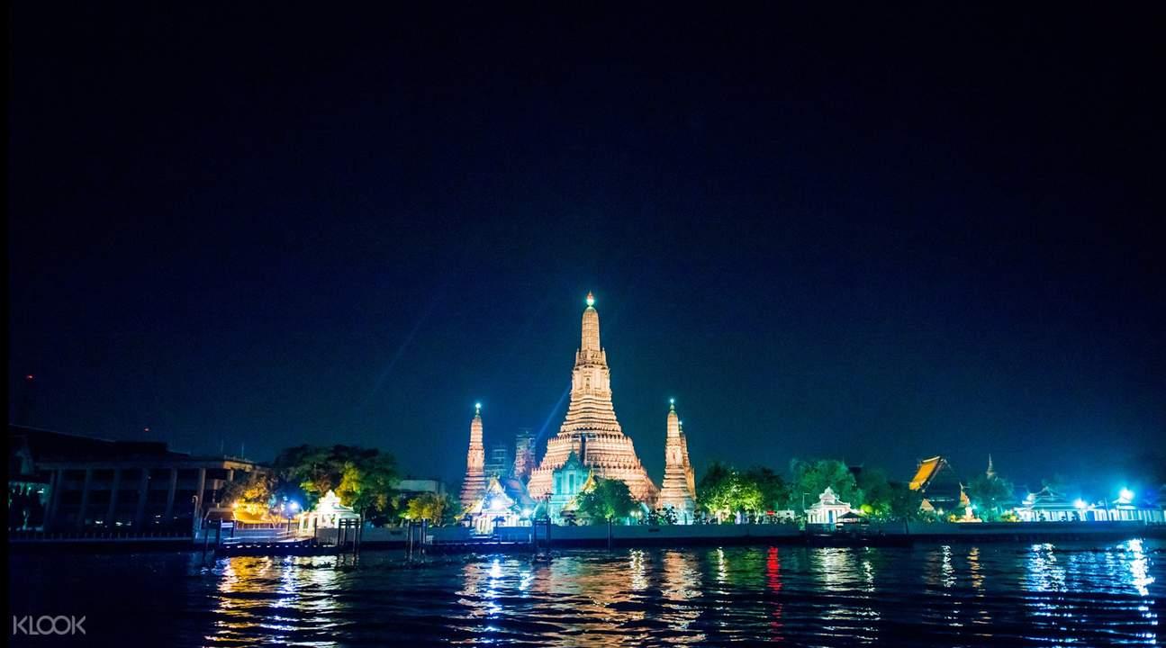 chao phraya white orchid river cruise bangkok