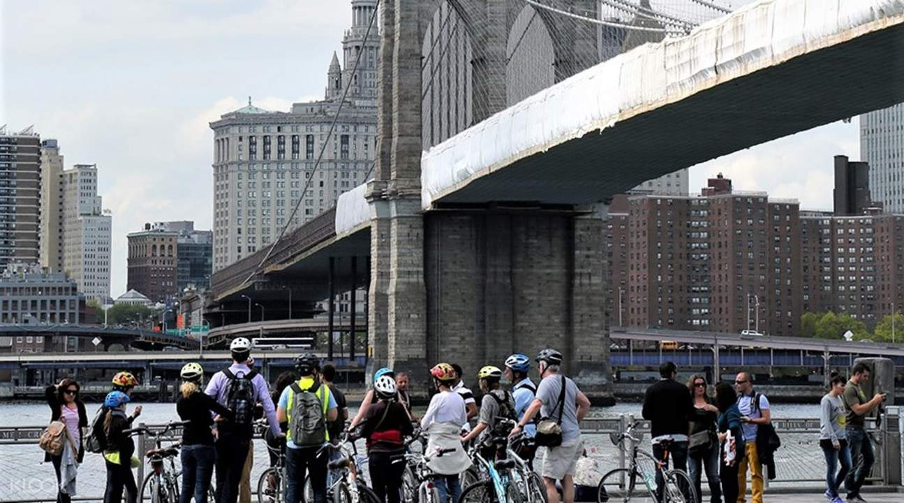 布魯克林大橋自行車騎行