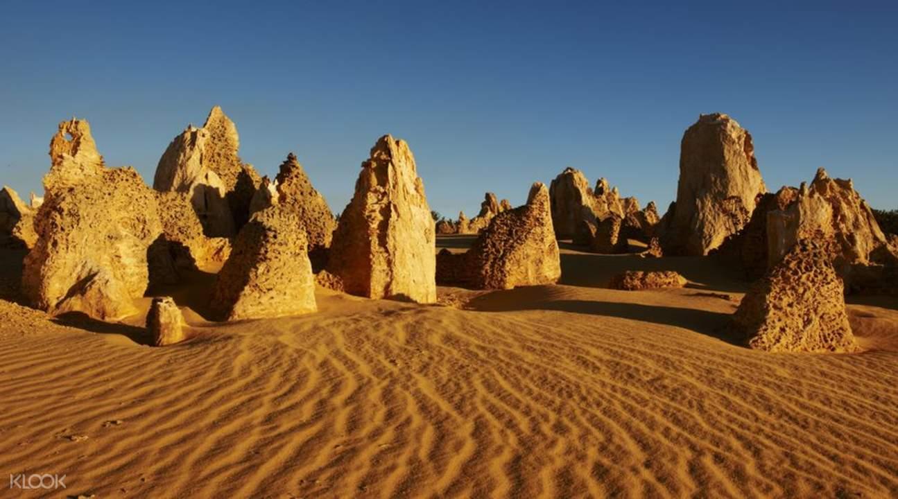 珀斯尖峰石阵,珀斯兰斯林沙漠滑沙,珀斯南邦国家公园