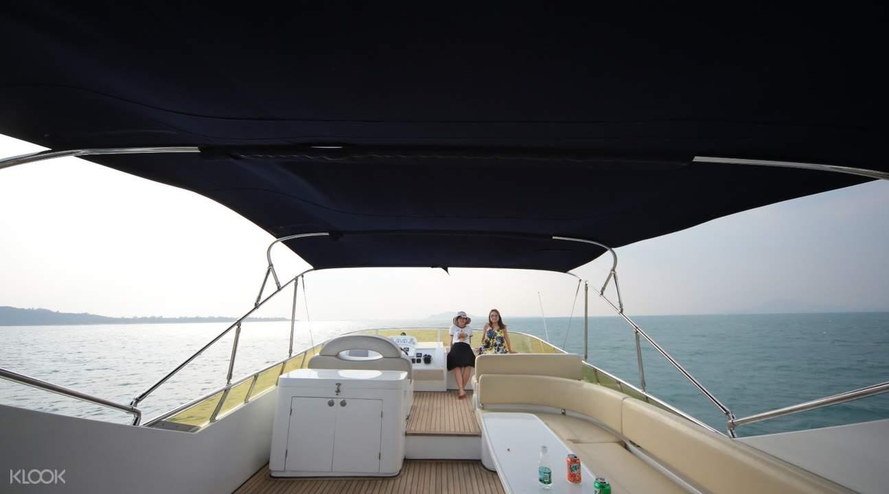 三亚游艇出海之旅