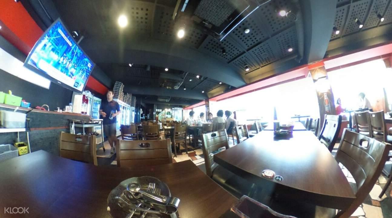 oppa dak korean fried chicken restaurant