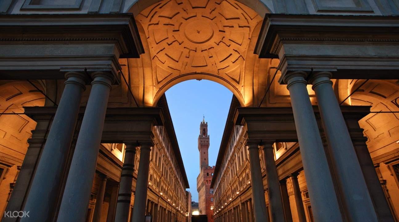佛羅倫斯烏菲茲美術館快速通關門票 & 導覽