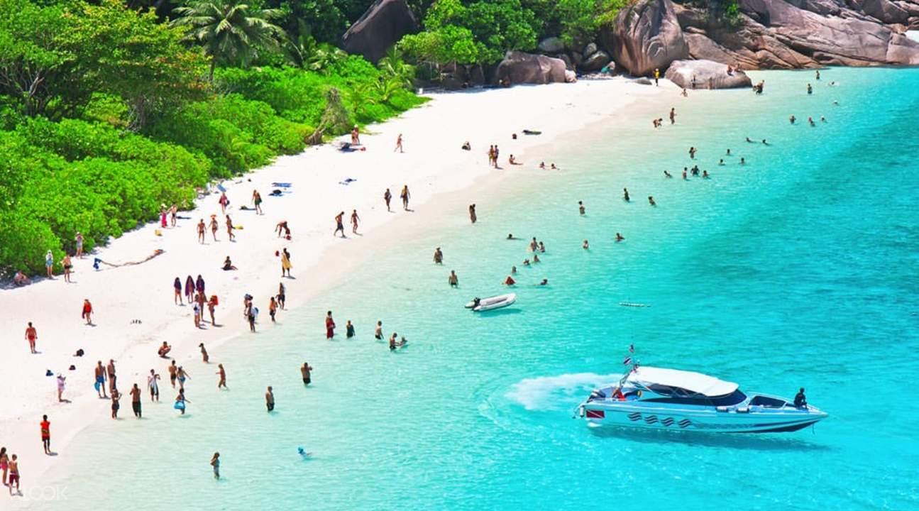 泰国斯米兰群岛,斯米兰群岛快艇一日游,斯米兰群岛