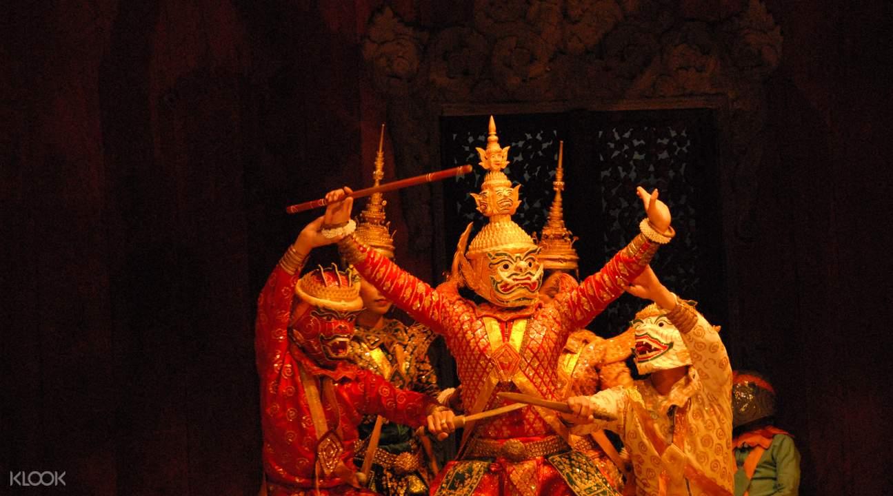 柬埔寨民俗表演