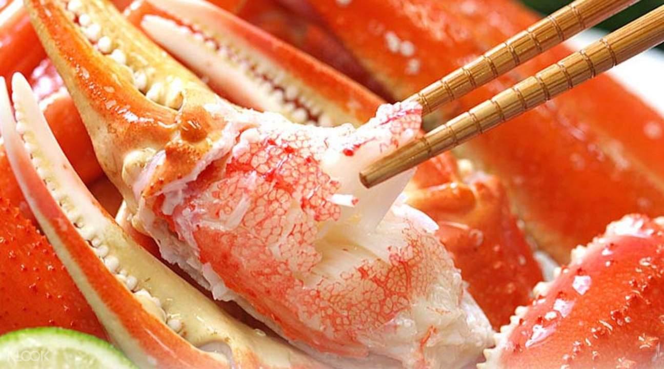 Tsukinoyume日式居酒屋螃蟹刺身