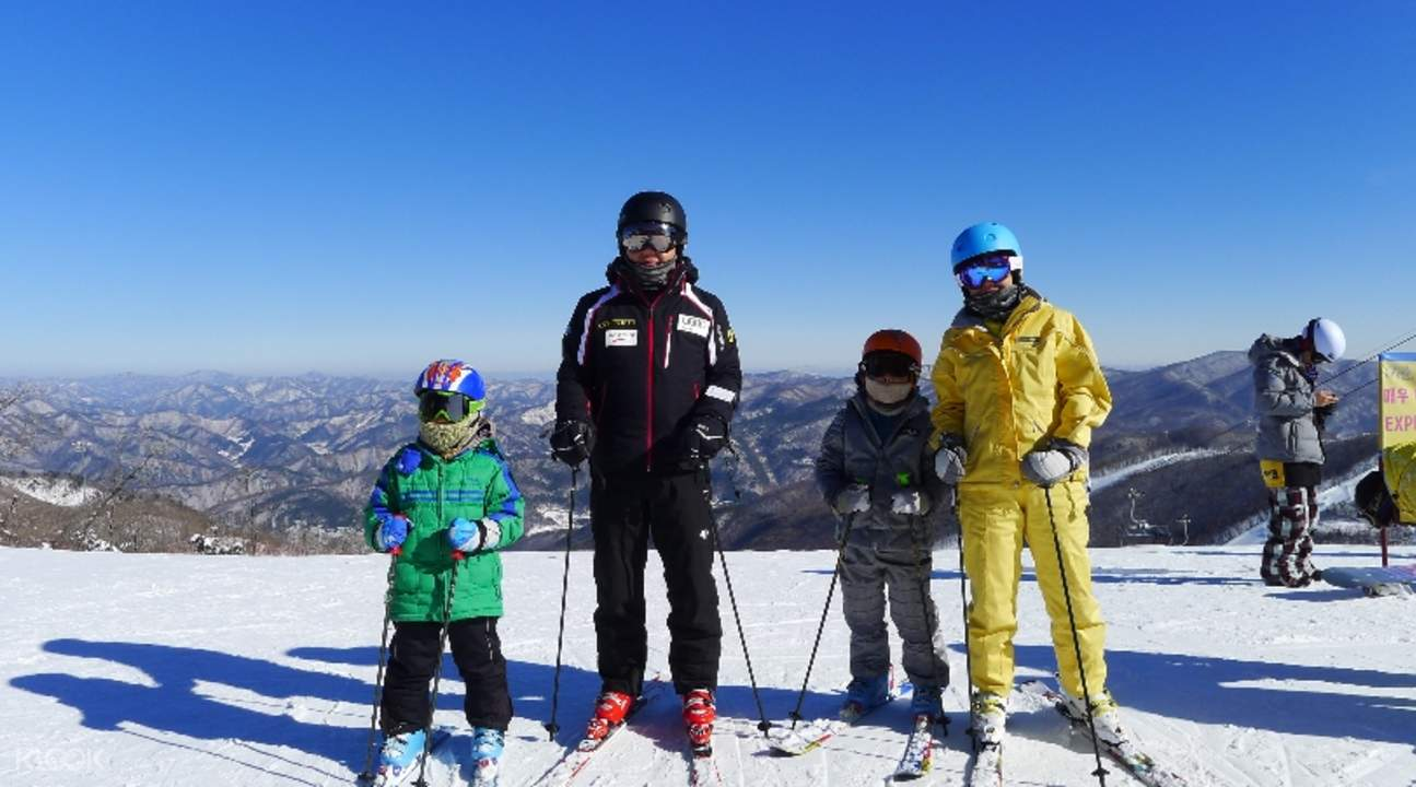 伊甸园山谷滑雪度假村往返接驳巴士套餐(釜山出发)